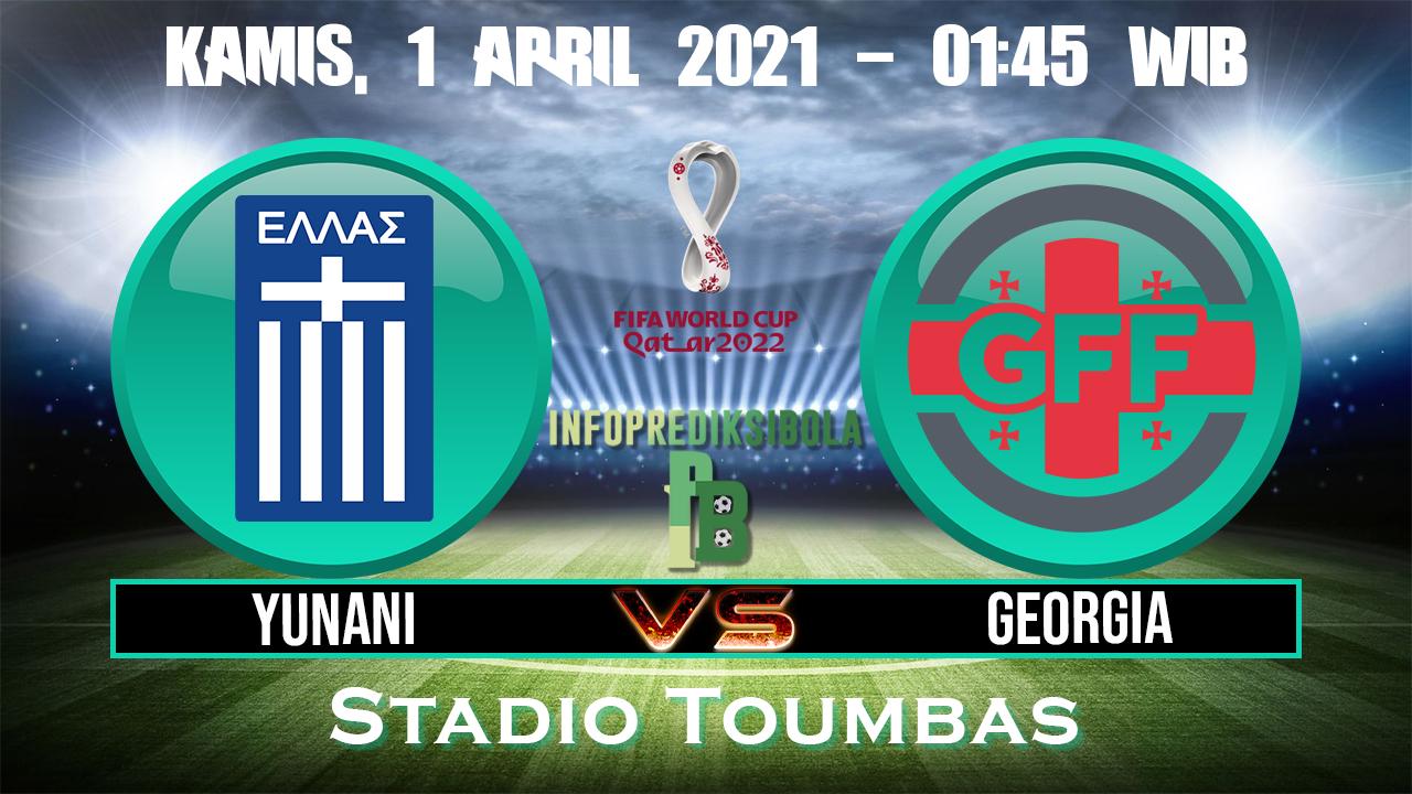 Prediksi Skor Yunani vs Georgia
