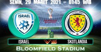 Prediksi Skor Israel vs Skotlandia