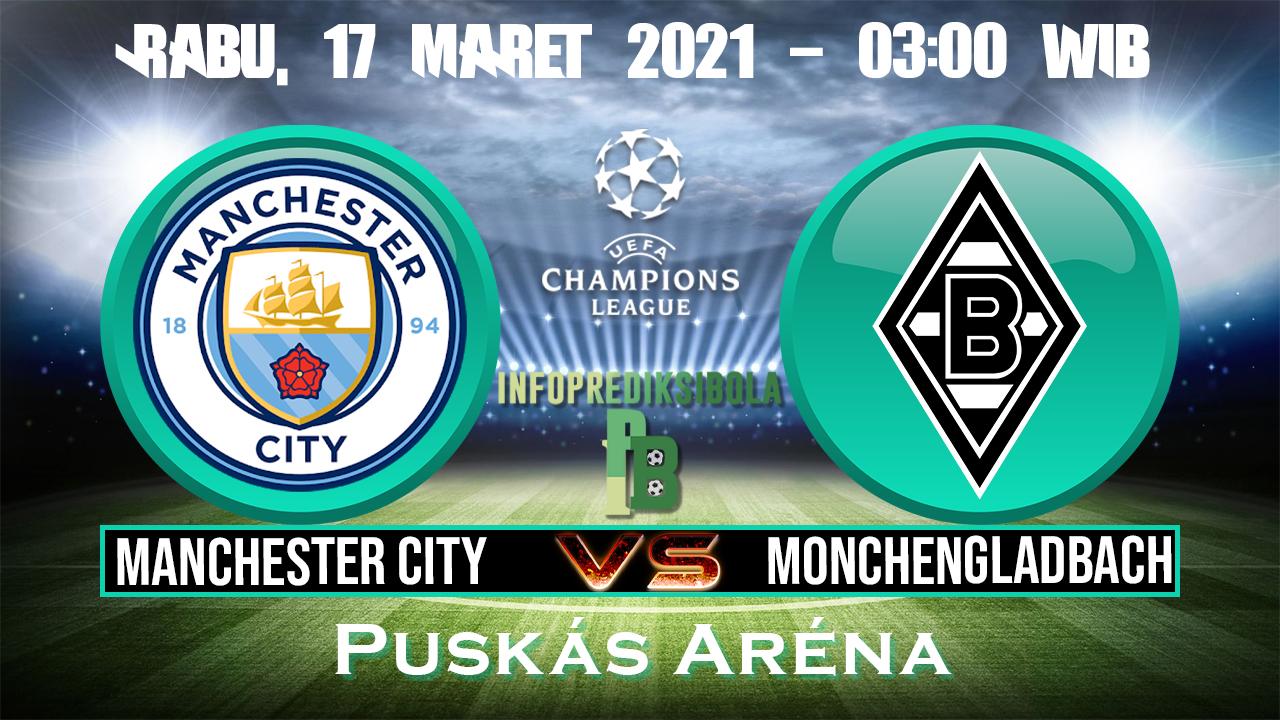 Prediksi Skor Manchester City vs Monchengladbach