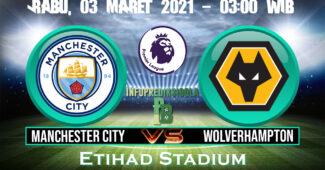 Prediksi Skor Manchester City vs Wolverhampton