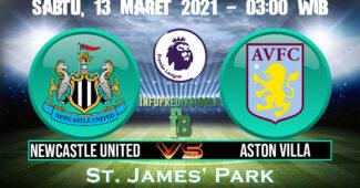 Prediksi Skor Newcastle United vs Aston Villa