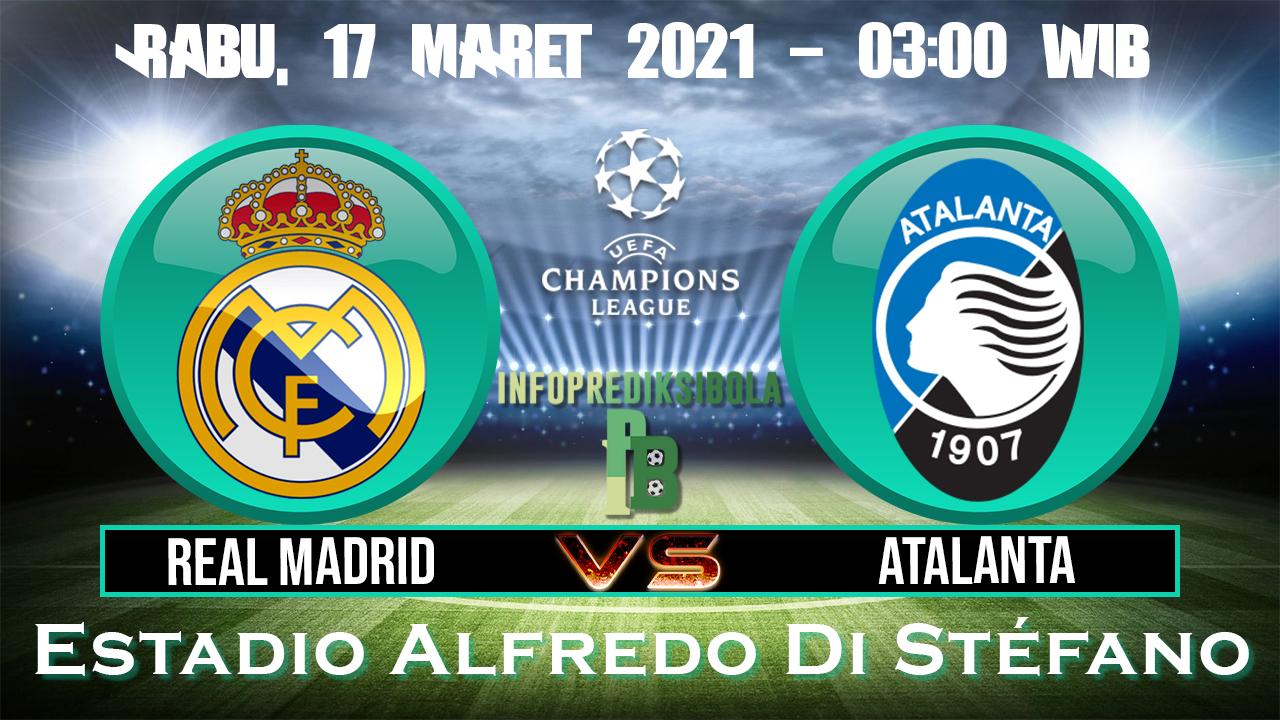 Prediksi Skor Real Madrid vs Atalanta