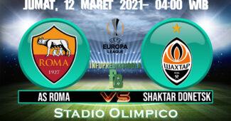Roma vs Shaktar Donetsk