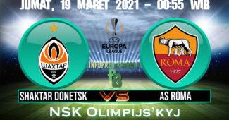 Prediksi Skor Shaktar Donetsk vs AS Roma