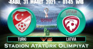 Prediksi Skor Turki vs Latvia