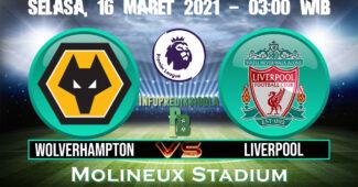 Prediksi Skor Wolverhampton vs Liverpool