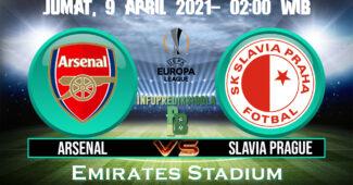 Prediksi Skor Arsenal vs Slavia Praha