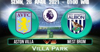 Prediksi Skor Aston Villa vs West Brom