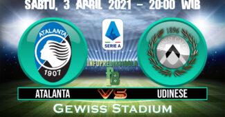 Prediksi Skor Atalanta vs Udinese