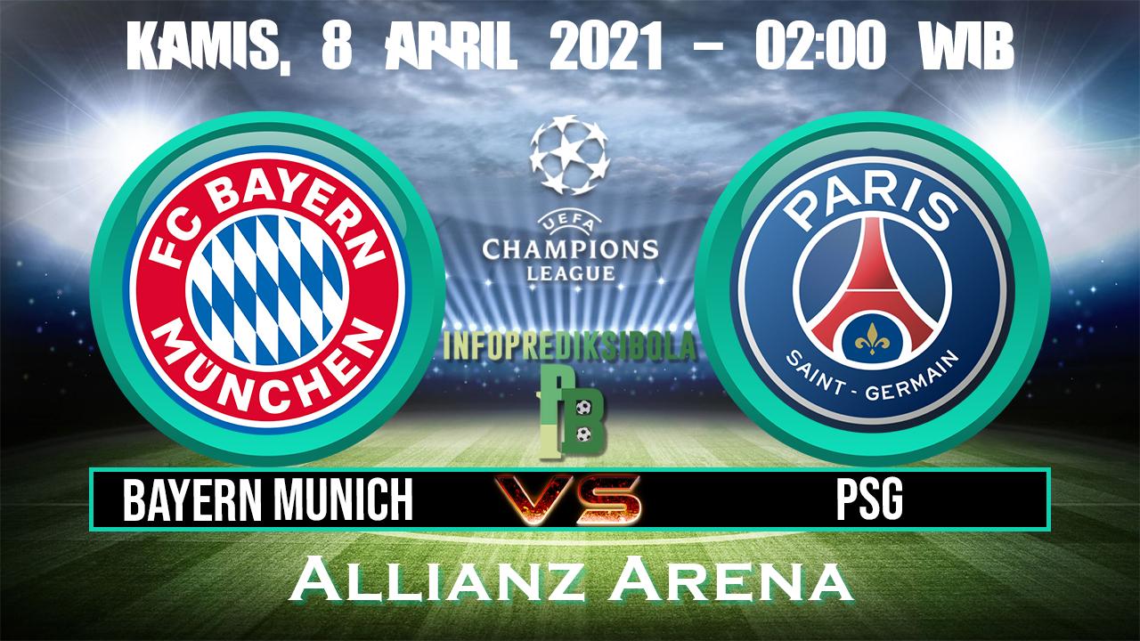 Prediksi Skor Bayern Munich vs Paris Saint Germain