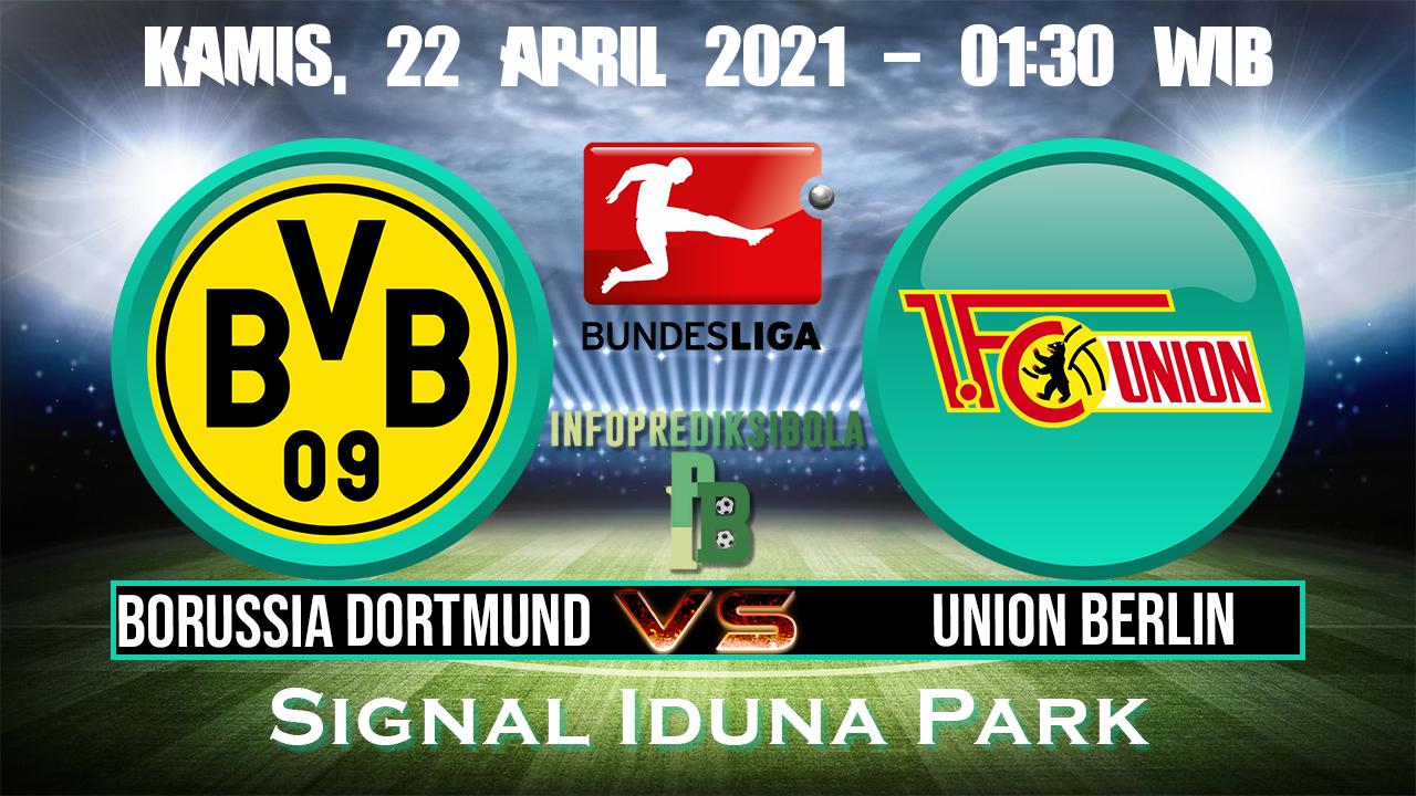 Prediksi Skor Borussia Dortmund vs Union Berlin