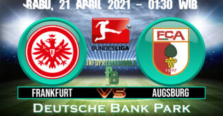 Prediksi Skor Eintracht Frankfurt vs Augsburg