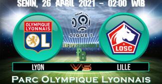 Prediksi Skor Olympique Lyon vs Lille