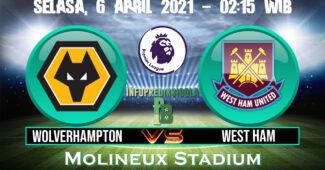Prediksi Skor Wolverhampton vs West Ham